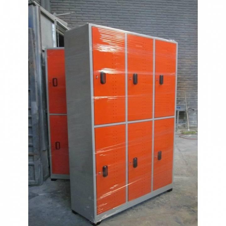 lokers especiales de 6 compartimentos 720x720 - کمد رختکن فلزی جالباسی کارسیس